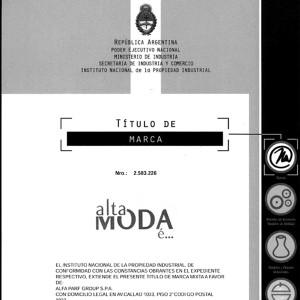 Titulo de Marca - Gatti & Asociados